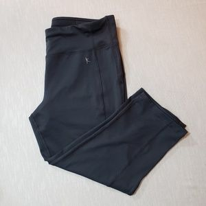 Danskin Now fitted M gray exercise capris